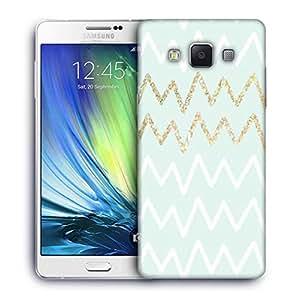 Snoogg wavular Designer Protective Back Case Cover For Samsung Galaxy A7