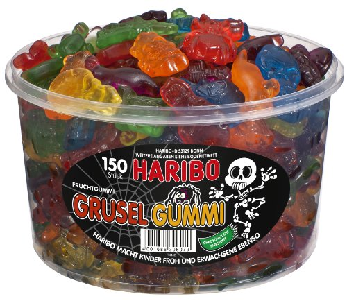 Haribo Grusel Gummi, 1er Pack (1 x 1.2 kg)