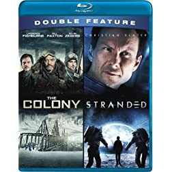Sci-fi Classics Double Feature (Stranded, The Colony) [Blu-ray]