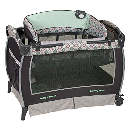 Baby Trend Deluxe Nursery Center, Artisan - 1