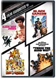 4 Film Favorites: Urban Action Collection (Black Belt Jones / Black Samson / Hot Potato / Three the Hard Way)