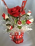 Candy Bouquet Edible Vase Full Size - Twizzler