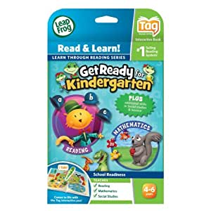Toy / Game LeapFrog Tag Get Ready for Kindergarten - Teaches reading, mathematics, social studies and more