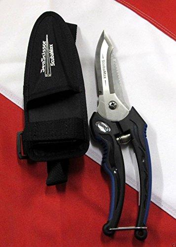 Sea Scissors Knife Scuba Diving Equipment Lc-05 Spearfishing Freediving Diver