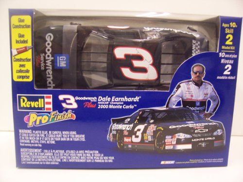 Revell 1640 #3 Dale Earnhardt Goodwrench Plus 2000 Monte Carlo 1/24 Scale Plastic Model Kit - 1