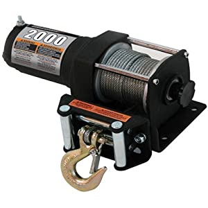 Champion Power Equipment 12002 2000-lb Power Winch Kit