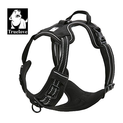 Best Front Range No-Pull Dog Harness. 3M Reflective Outdoor Adventure Pet Vest with Handle. 3 Stylish Colors and 5 Sizes. (Wonder Walker Harness compare prices)