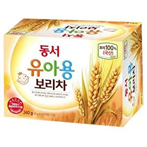 Dongsuh Roasted Barley Tea Mild For Baby 240g (8g*30 tea bag)