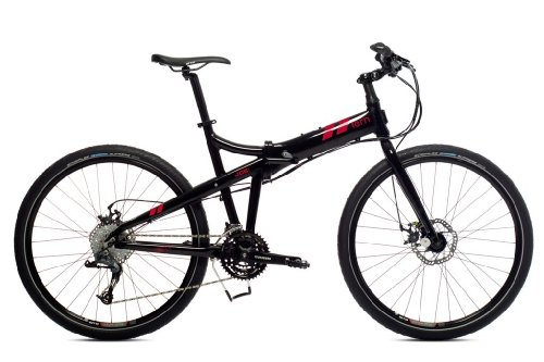 "TERN Faltrad Klapprad 26"" Joe P24 24-G Sram X7 black / red"
