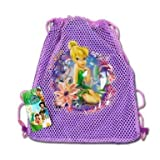 (3 Count) DISNEY TINKER BELL Sling Party Favor TINKERBELL Goodie Bag - Favors - ALL QUANTITIES AVAILABLE!