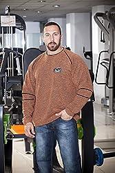BIG SAM Sweater Sweatshirt Jacket Hoody UNCLE BODY DOG Logo *4605*