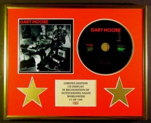 GARY MOORE/CD Display/Limitata Edizione/Certificato di autenticità/STILL GOT THE BLUES
