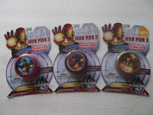 Iron Man 3 Duncan Yo-yo -1 Pk (Color & Style May Vary)