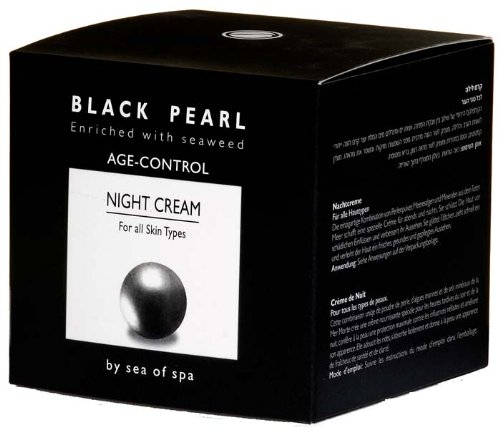 Sea Of Spa Black Pearl - Night Cream