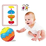 Funny Baby Kids Colorful Grasping Ball Puzzle Assembly Early Educational Toy