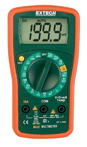 Extech MN35 Digital Mini MultiMeter picture