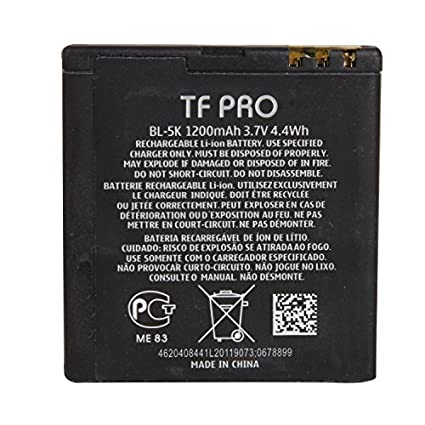 Tfpro-BL-5k-1200mAh-Battery-(For-Nokia)