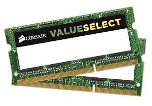 Corsair 2GB Module (1x2GB) DDR3L 1600MHz Unbuffered CL11 SODIMM 1.35V