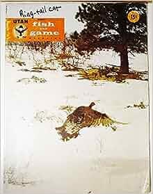 Utah fish and game magazine march 1960 various for Utah game and fish