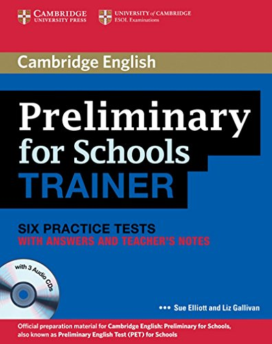 PRELIMINARY FOR SCHOOLS TRAINER WITH ANSWERS descarga pdf epub mobi fb2