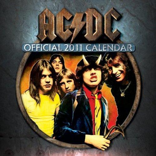 AC/DC-2011-Calendario da parete, con licenza ufficiale