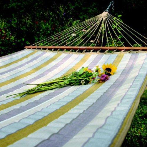 Sunbrella Quilted Hammock Color: Magnolia
