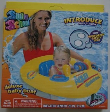 Aqua Leisure Deluxe Baby Boat back-1039716
