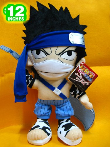 Anime Naruto Zabuza Momochi Plush Doll 12 Inches image