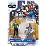 Jakks Pacific, Hero Portal, DC Comics Booster Pack, Green Lantern And Cyborg