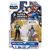 Hero Portal DC Booster Pack Lantern and Cyborg Game (Green)
