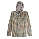 Fourstar Malto Signature Hooded Shirt Brown