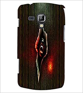 PrintDhaba Scary Image D-4006 Back Case Cover for SAMSUNG GALAXY S DUOS 2 S7582 (Multi-Coloured)