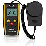 Pyle PLMT16 - Digital Handheld Photography Light Meter with  - Measures Lux and Lumens (200,000 LUX MAX Range)