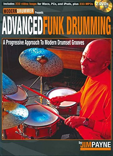 Modern Drummer Presents: Advanced Funk Drumming (Book & DVD)