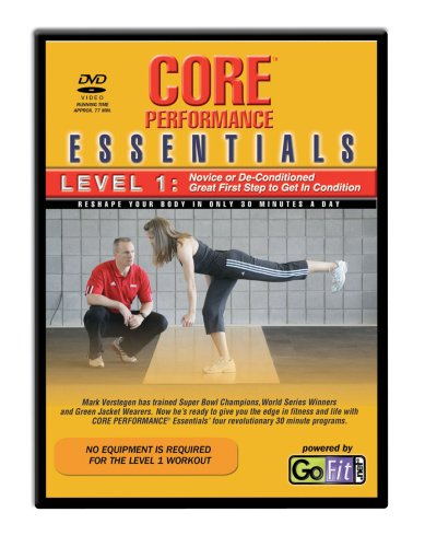 GoFit Core Essentials DVD & Training Card - Level 1