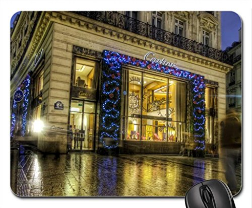 cartier-in-paris-at-christmas-hdr-mouse-pad-mousepad-skyscrapers-mouse-pad