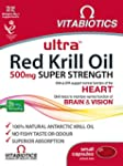 Ultra 500mg Red Krill Oil Capsules -...