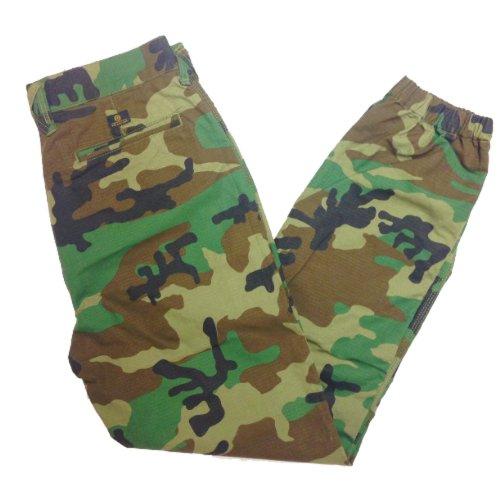 10 Deep Mens Camo Cinch Bottom Cargo Pants - Size 34