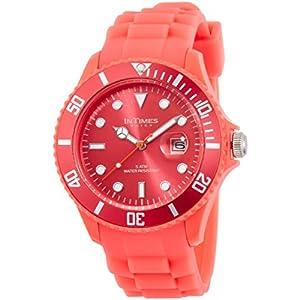 [インタイムス]INTIMES 腕時計 シチズンムーブ搭載 日付カレンダー付き ルミレッド IT057-LURD 【正規輸入品】