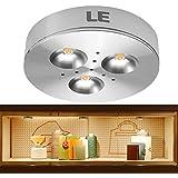 LE® Brightest LED Under Cabinet Lighting, Puck Lights, 12VDC, 25W Halogen Replacement, 240lm, Warm White, Under Cabinet Lighting