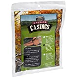 Eastman Outdoors 100% Natural Hog Casing for Italian, Bratwurst & BBQ Size Sausages (Makes Approximately 25 Pounds of Sausage) ~ Eastman Outdoors