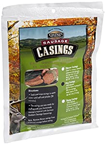 Eastman Outdoors 100% Natural Hog Casing for Italian, Bratwurst & BBQ Size Sausages (Makes Approximately 25 Pounds of Sausage)