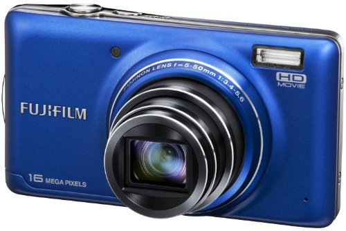 Fujifilm T400 Digital Camera - Blue (16MP, 10x Optical Zoom) 3 inch LCD Screen
