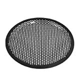 uxcell® 8 Inch Subwoofer Speaker Black Metal Waffle Cover Guard Grill