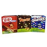 Nestle Medium Easter Egg Collection Trio - Kit Kat - Rolo - Smarties
