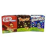 Nestle Medium Easter Egg Collection Trio - Kit Kat - Rolo - Smarties