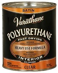 Rust-Oleum VARATHANE Oil-Based Polyurethane for Interior Furniture & Wood Polish, 946 ml, SATIN Finish