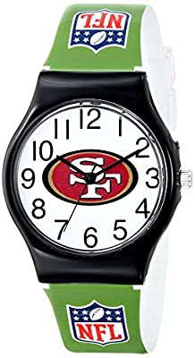 "Game Time Youth NFL-JV-SF ""JV"" Watch - San Francisco 49ers"