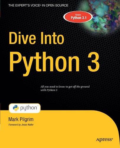 Dive Into Python 3  1430224150 pdf