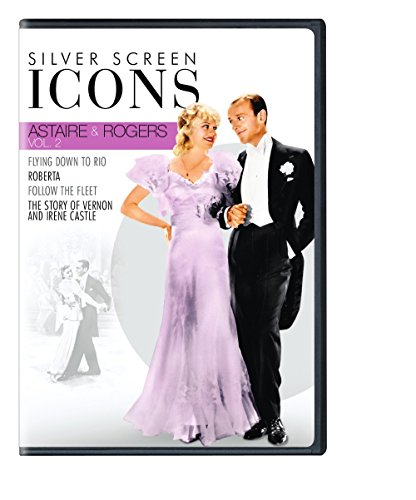 DVD : Silver Screen Icons: Astaire & Rogers: Volume 2 (Boxed Set, 4 Disc)